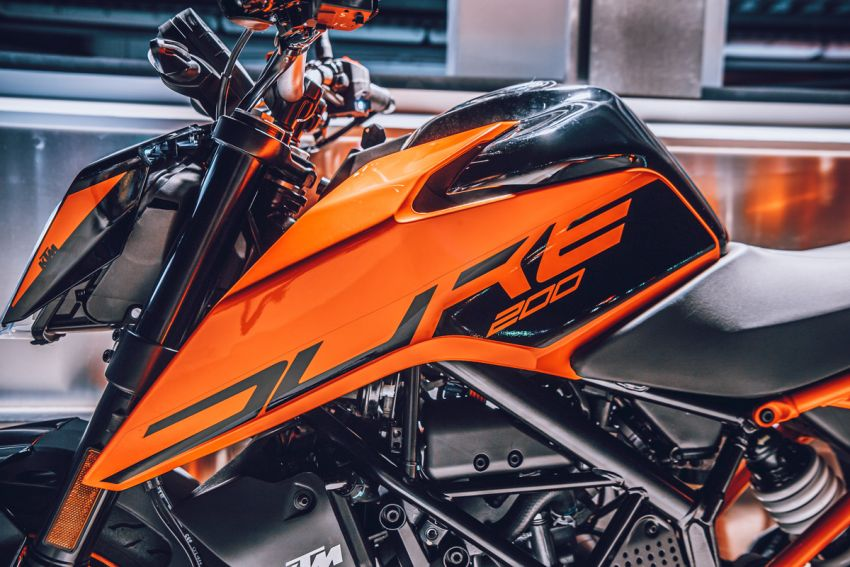 2021 KTM Duke 200 launched in Malaysia, RM12,888 Image #1270798
