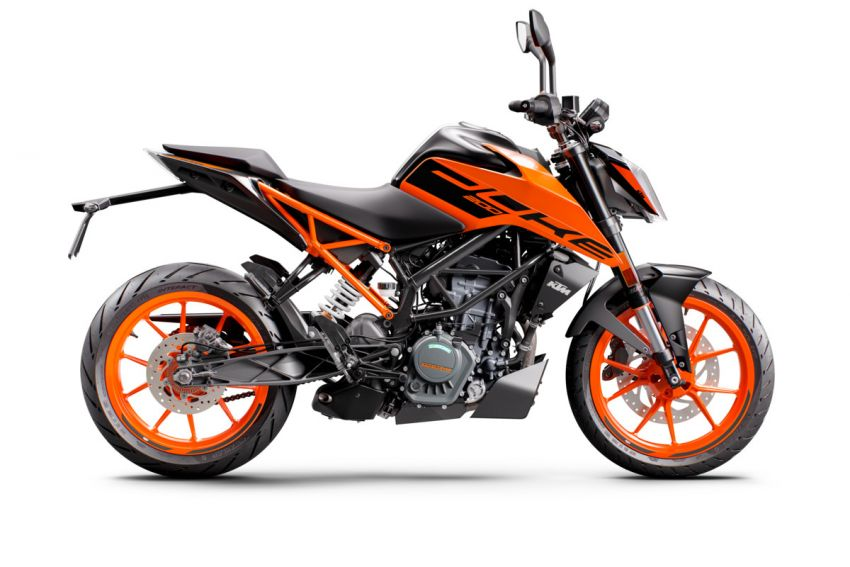 2021 KTM Duke 200 launched in Malaysia, RM12,888 Image #1270781