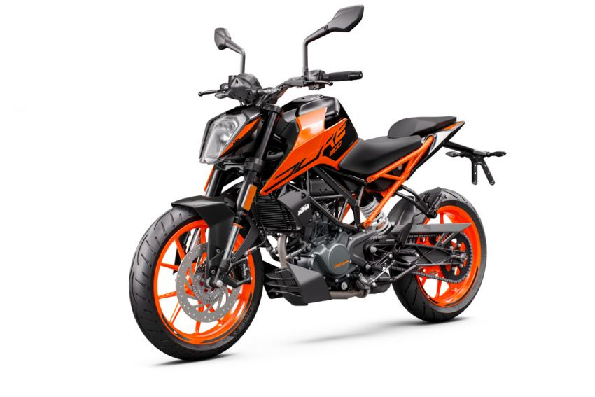 2021 KTM Duke 200 launched in Malaysia, RM12,888 Image #1270782