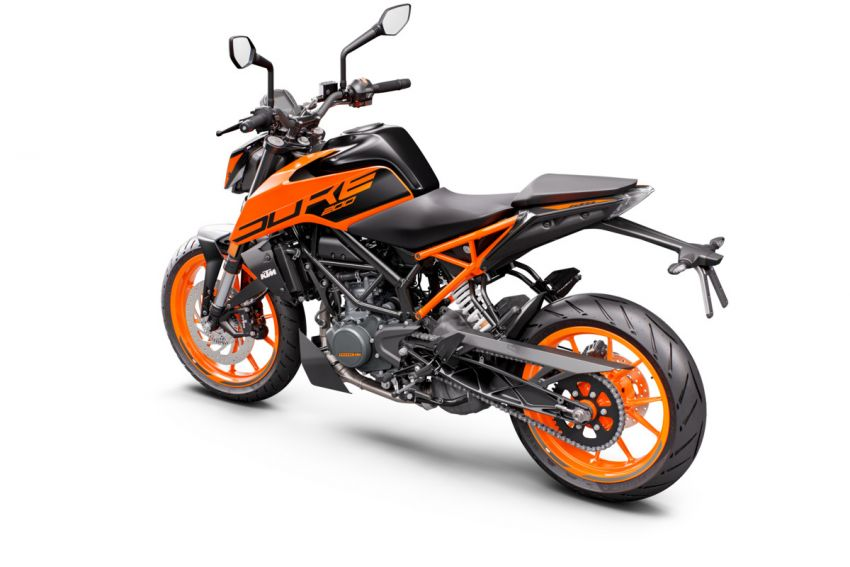 2021 KTM Duke 200 launched in Malaysia, RM12,888 Image #1270785