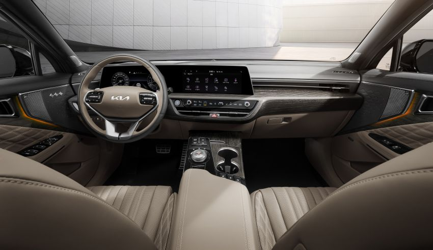 Kia K8 interior revealed ahead of full debut this year Image #1258342