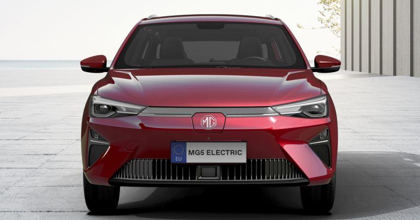 MG5 Electric debuts – 184 PS and 280 Nm; 400 km WLTP range, 2,500-watt V2L external power supply Image #1265463