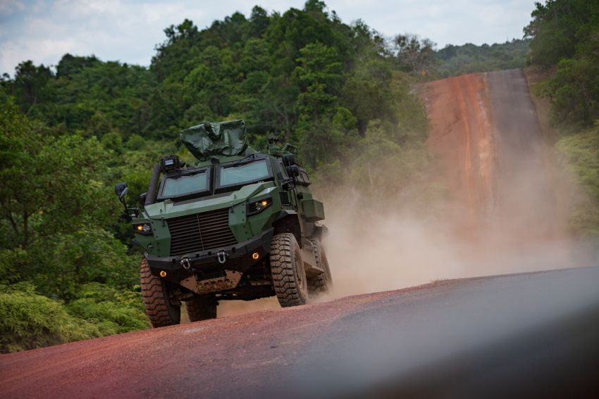 MILDEF Malaysia HMAV successfully completes first round of Malaysian Army evaluation testing Image #1263826