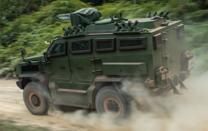 MILDEF Malaysia HMAV successfully completes first round of Malaysian Army evaluation testing Image #1263835