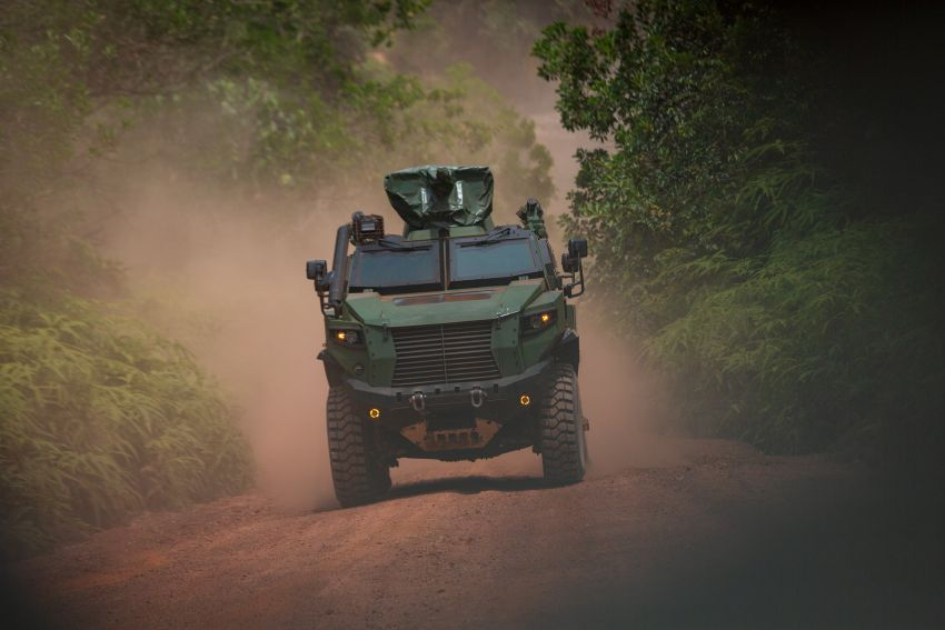 MILDEF Malaysia HMAV successfully completes first round of Malaysian Army evaluation testing Image #1263828