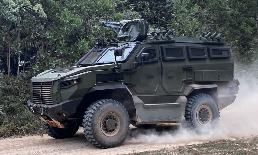 MILDEF Malaysia HMAV successfully completes first round of Malaysian Army evaluation testing Image #1263829