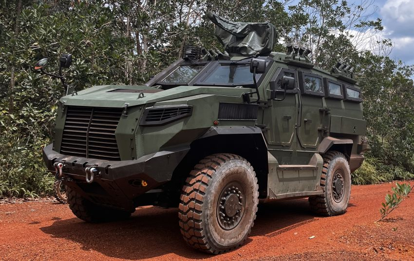MILDEF Malaysia HMAV successfully completes first round of Malaysian Army evaluation testing Image #1263830