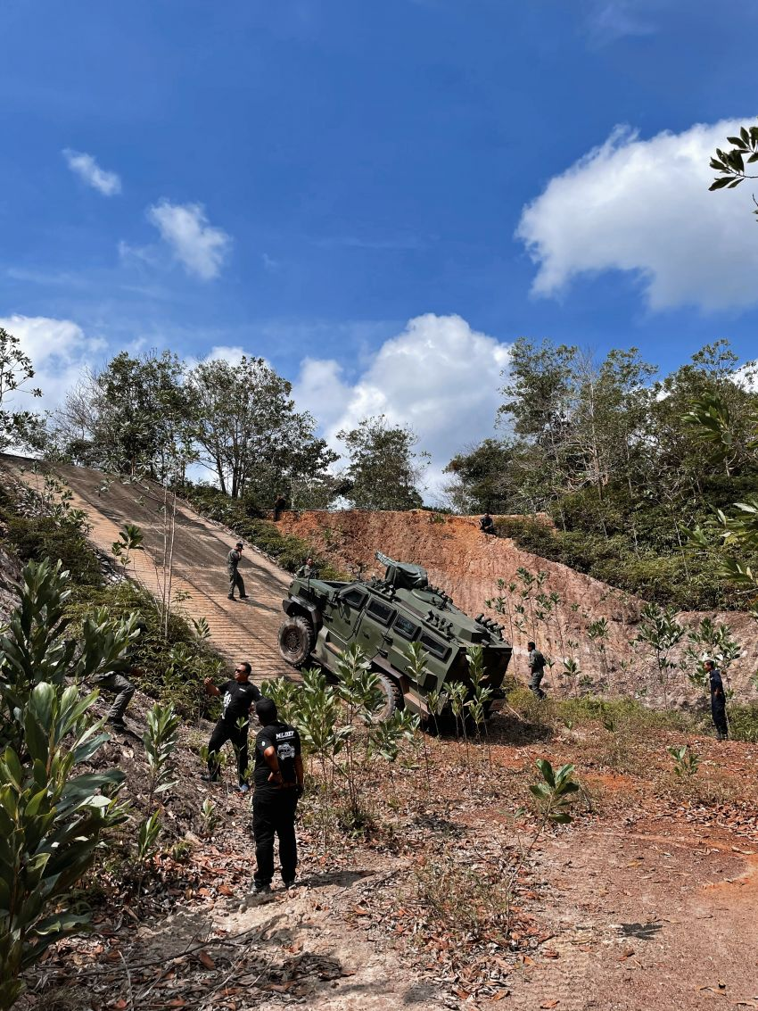 MILDEF Malaysia HMAV successfully completes first round of Malaysian Army evaluation testing Image #1263831