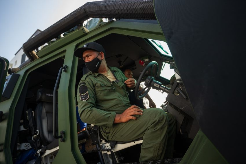 MILDEF Malaysia HMAV successfully completes first round of Malaysian Army evaluation testing Image #1263832