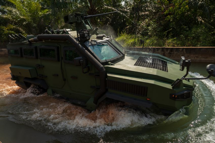 MILDEF Malaysia HMAV successfully completes first round of Malaysian Army evaluation testing Image #1263833