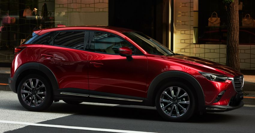 2021 Mazda CX-3 launched in Malaysia – now with AEB, LDW, Android Auto, Apple CarPlay; from RM131k Image #1260638