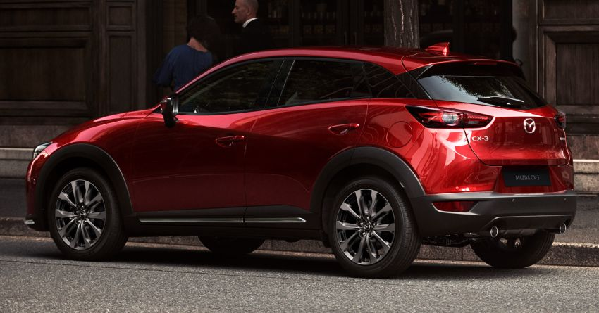 2021 Mazda CX-3 launched in Malaysia – now with AEB, LDW, Android Auto, Apple CarPlay; from RM131k Image #1260639