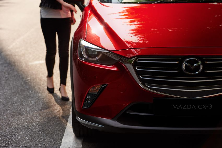 2021 Mazda CX-3 launched in Malaysia – now with AEB, LDW, Android Auto, Apple CarPlay; from RM131k Image #1260645