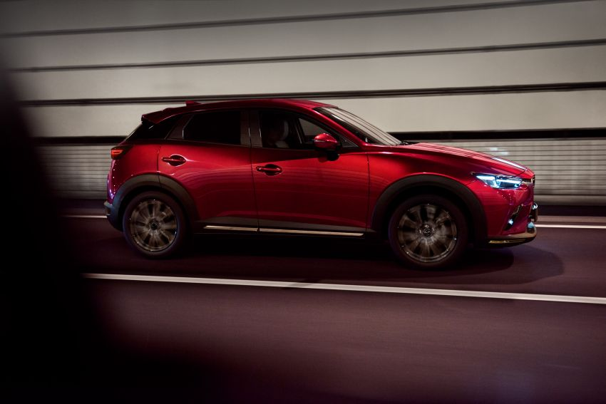 2021 Mazda CX-3 launched in Malaysia – now with AEB, LDW, Android Auto, Apple CarPlay; from RM131k Image #1260648