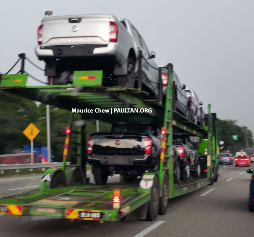 SPIED: 2021 Nissan Navara facelift spotted in Malaysia Image #1266305
