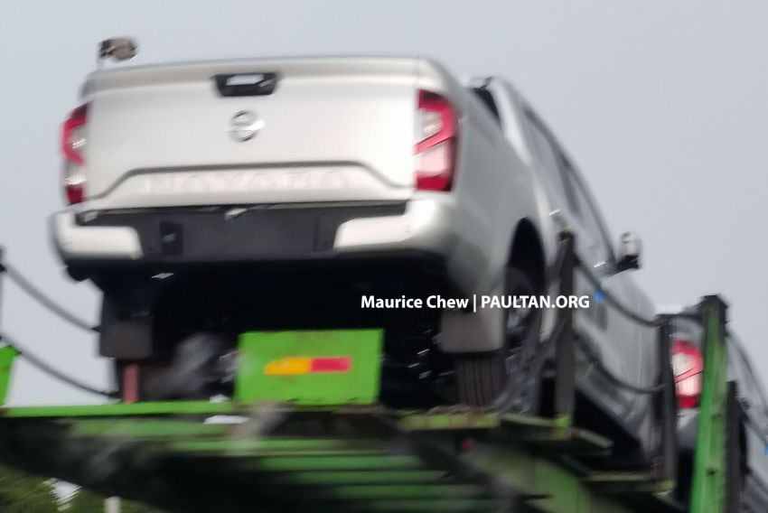 SPIED: 2021 Nissan Navara facelift spotted in Malaysia Image #1266306