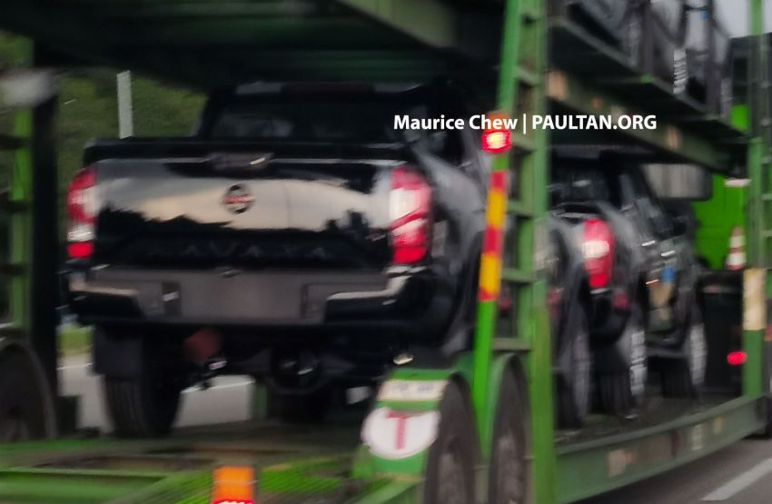 SPIED: 2021 Nissan Navara facelift spotted in Malaysia Image #1266307
