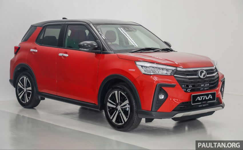 2021 Perodua Ativa SUV launched in Malaysia – X, H, AV specs; 1.0L Turbo CVT; from RM61,500 to RM72k Image #1256310