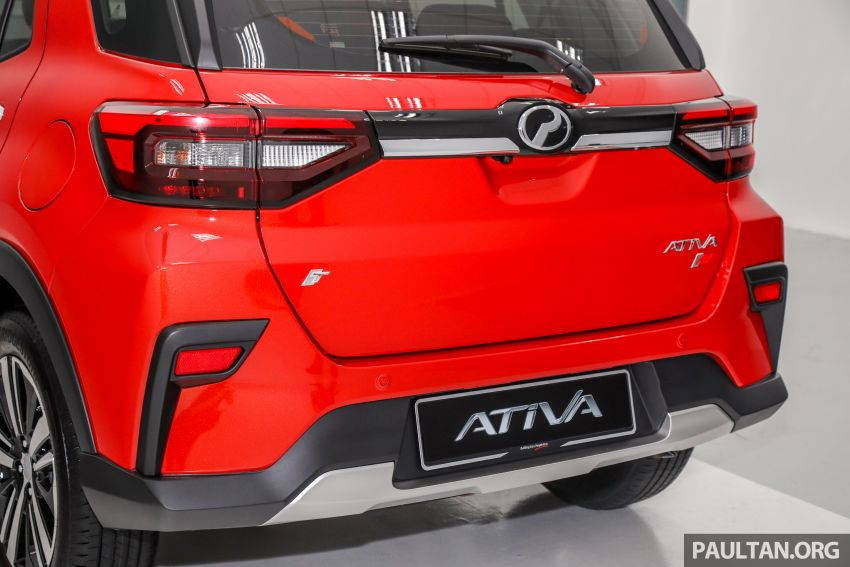 2021 Perodua Ativa SUV launched in Malaysia – X, H, AV specs; 1.0L Turbo CVT; from RM61,500 to RM72k Image #1256334