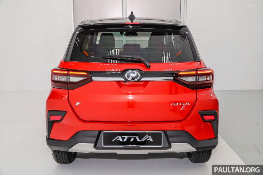 Perodua Ativa 2021 dilancarkan — varian X, H dan AV, 1.0L turbo dengan CVT, ASA 3.0, dari RM61k-RM72k Image #1256824