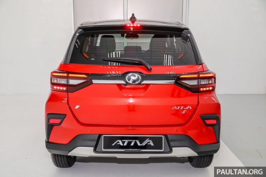 Perodua Ativa 2021 dilancarkan — varian X, H dan AV, 1.0L turbo dengan CVT, ASA 3.0, dari RM61k-RM72k Image #1256825