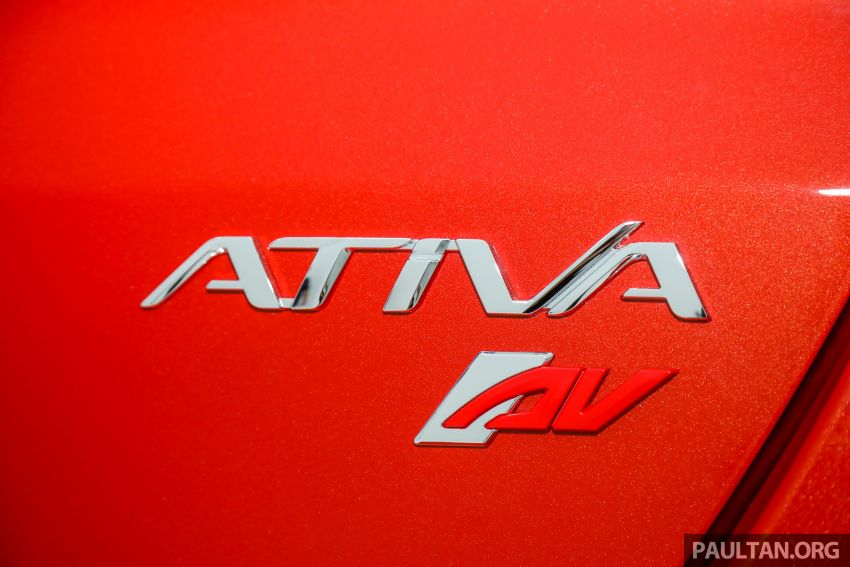 Perodua Ativa 2021 dilancarkan — varian X, H dan AV, 1.0L turbo dengan CVT, ASA 3.0, dari RM61k-RM72k Image #1256838