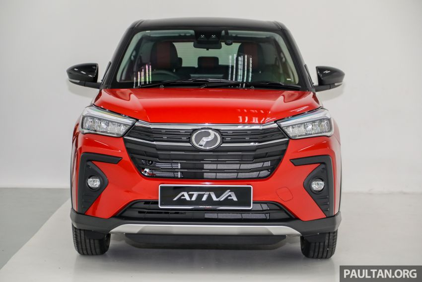 Perodua Ativa 2021 dilancarkan — varian X, H dan AV, 1.0L turbo dengan CVT, ASA 3.0, dari RM61k-RM72k Image #1256801