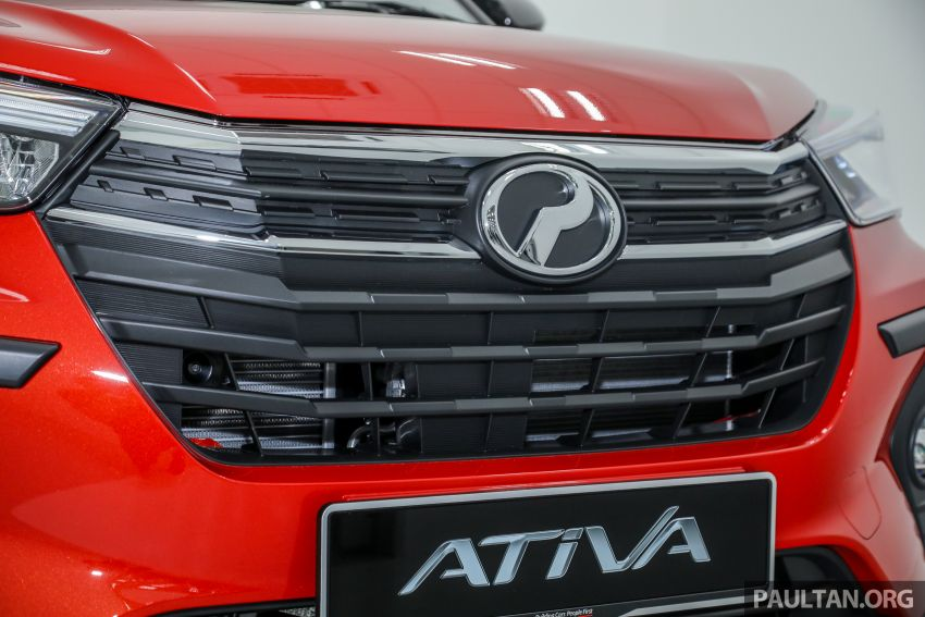 Perodua Ativa 2021 dilancarkan — varian X, H dan AV, 1.0L turbo dengan CVT, ASA 3.0, dari RM61k-RM72k Image #1256807