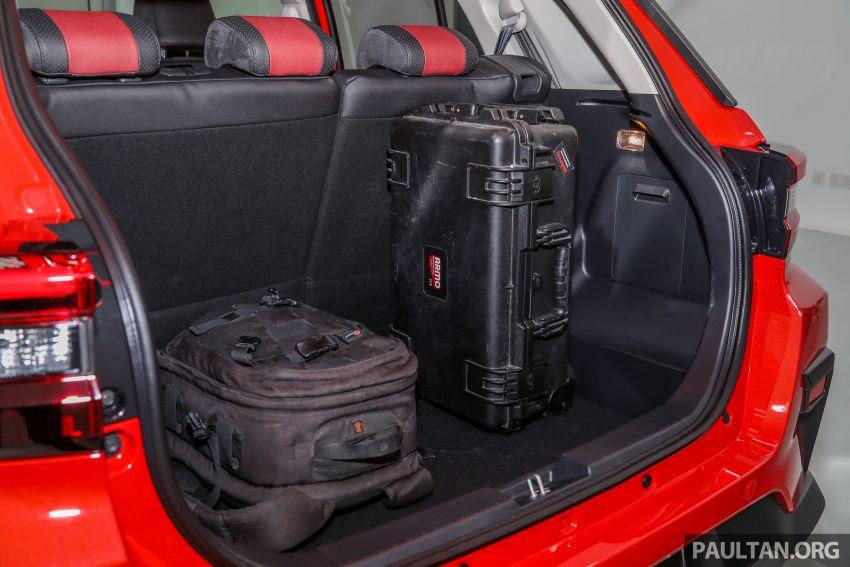 Perodua Ativa 2021 dilancarkan — varian X, H dan AV, 1.0L turbo dengan CVT, ASA 3.0, dari RM61k-RM72k Image #1256973