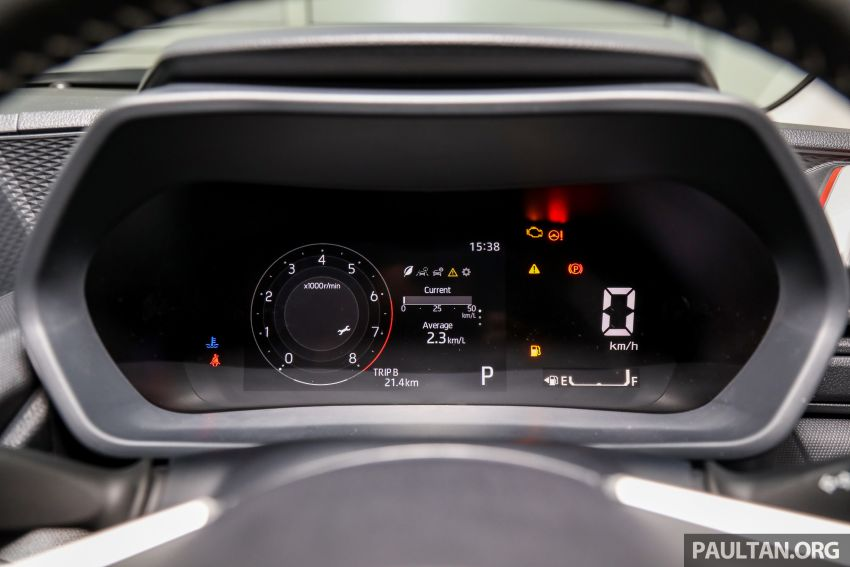 Perodua Ativa 2021 dilancarkan — varian X, H dan AV, 1.0L turbo dengan CVT, ASA 3.0, dari RM61k-RM72k Image #1256866