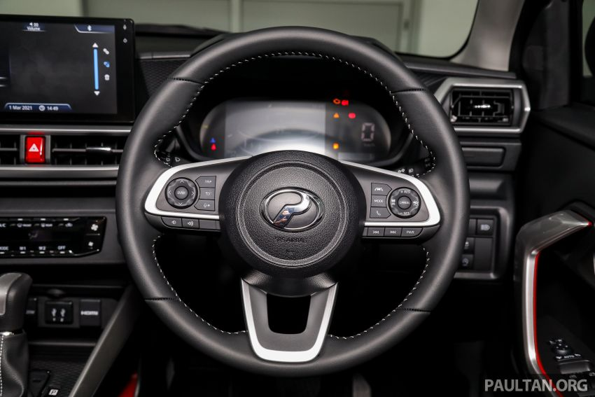Perodua Ativa 2021 dilancarkan — varian X, H dan AV, 1.0L turbo dengan CVT, ASA 3.0, dari RM61k-RM72k Image #1256893