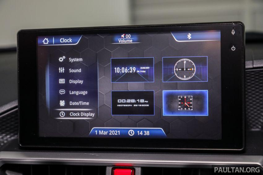 Perodua Ativa 2021 dilancarkan — varian X, H dan AV, 1.0L turbo dengan CVT, ASA 3.0, dari RM61k-RM72k Image #1256909