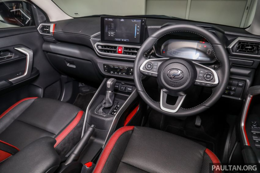 2021 Perodua Ativa SUV launched in Malaysia – X, H, AV specs; 1.0L Turbo CVT; from RM61,500 to RM72k Image #1256434