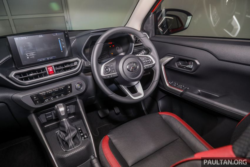 2021 Perodua Ativa SUV launched in Malaysia – X, H, AV specs; 1.0L Turbo CVT; from RM61,500 to RM72k Image #1256435