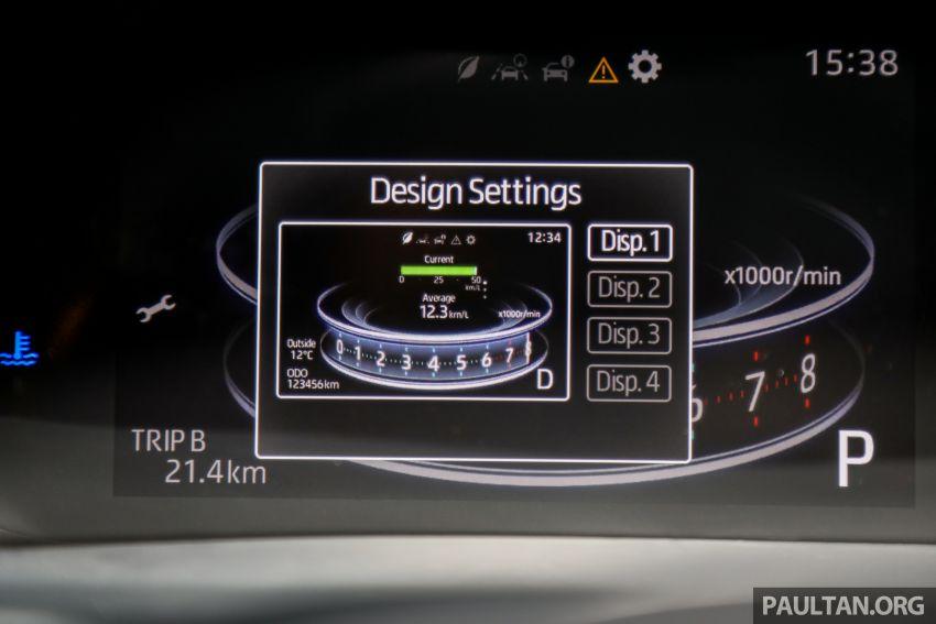 Perodua Ativa 2021 dilancarkan — varian X, H dan AV, 1.0L turbo dengan CVT, ASA 3.0, dari RM61k-RM72k Image #1256858