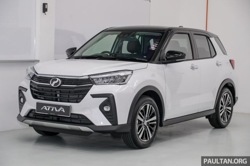 2021 Perodua Ativa SUV launched in Malaysia – X, H, AV specs; 1.0L Turbo CVT; from RM61,500 to RM72k Image #1256485