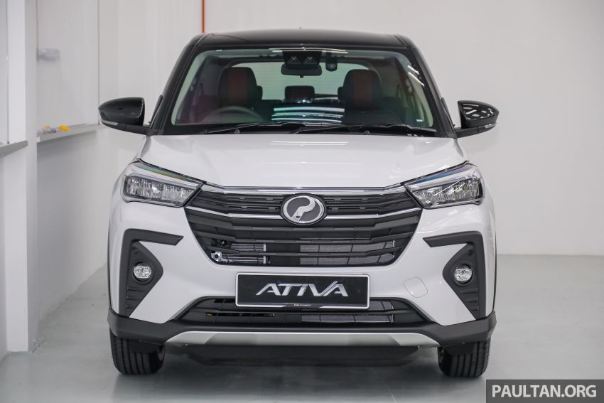 2021 Perodua Ativa SUV launched in Malaysia – X, H, AV specs; 1.0L Turbo CVT; from RM61,500 to RM72k Image #1256488