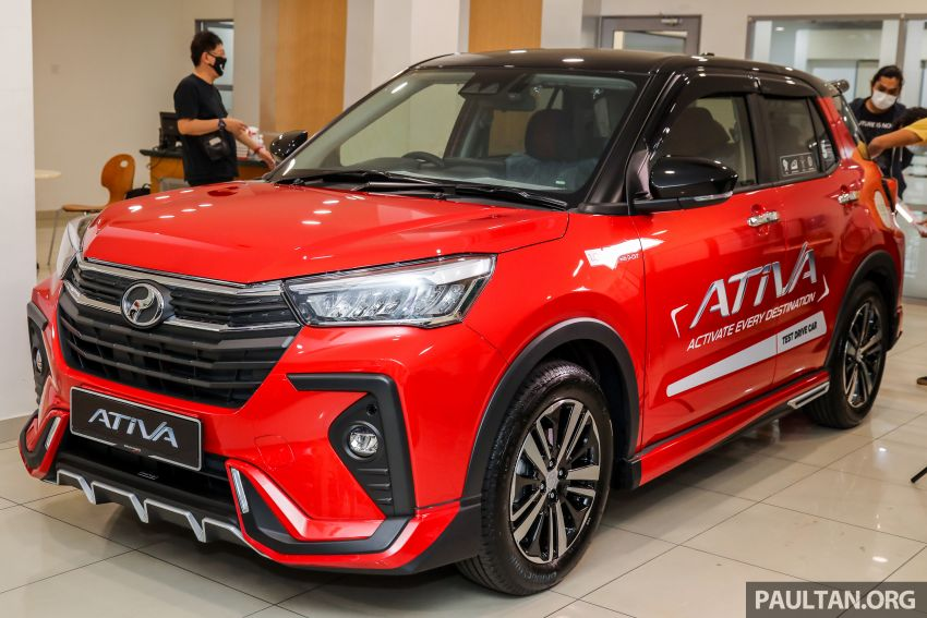 2021 Perodua Ativa SUV launched in Malaysia – X, H, AV specs; 1.0L Turbo CVT; from RM61,500 to RM72k Image #1257671