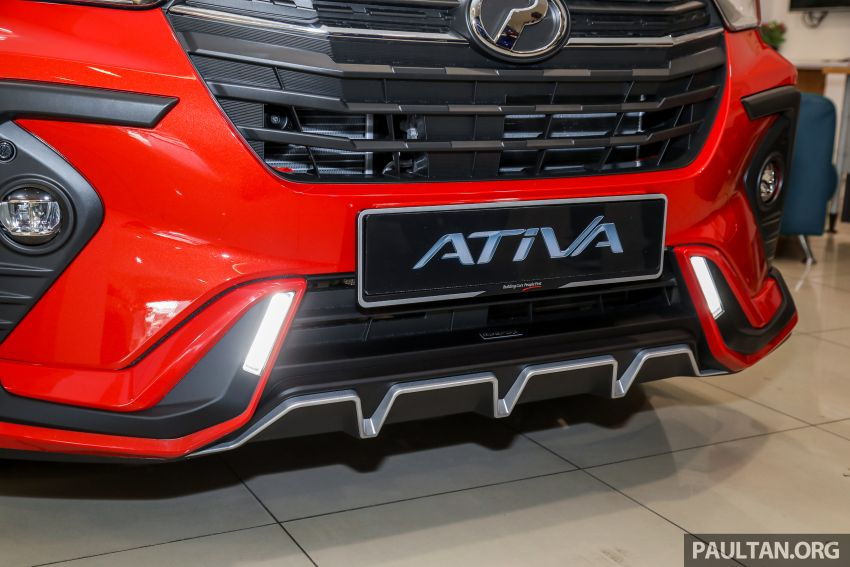 Perodua Ativa 2021 dilancarkan — varian X, H dan AV, 1.0L turbo dengan CVT, ASA 3.0, dari RM61k-RM72k Image #1257597