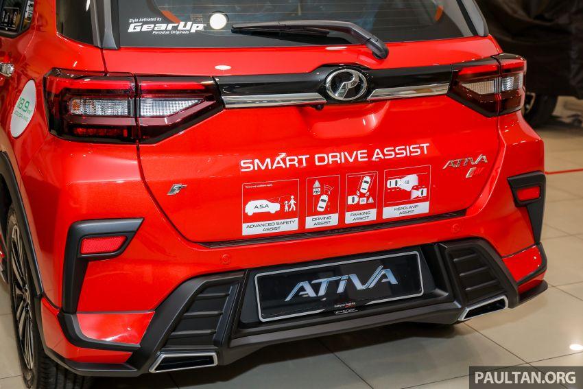 Perodua Ativa 2021 dilancarkan — varian X, H dan AV, 1.0L turbo dengan CVT, ASA 3.0, dari RM61k-RM72k Image #1257606