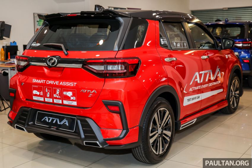 2021 Perodua Ativa SUV launched in Malaysia – X, H, AV specs; 1.0L Turbo CVT; from RM61,500 to RM72k Image #1257672
