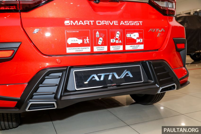Perodua Ativa 2021 dilancarkan — varian X, H dan AV, 1.0L turbo dengan CVT, ASA 3.0, dari RM61k-RM72k Image #1257610