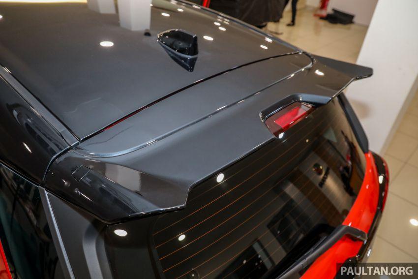Perodua Ativa 2021 dilancarkan — varian X, H dan AV, 1.0L turbo dengan CVT, ASA 3.0, dari RM61k-RM72k Image #1257619