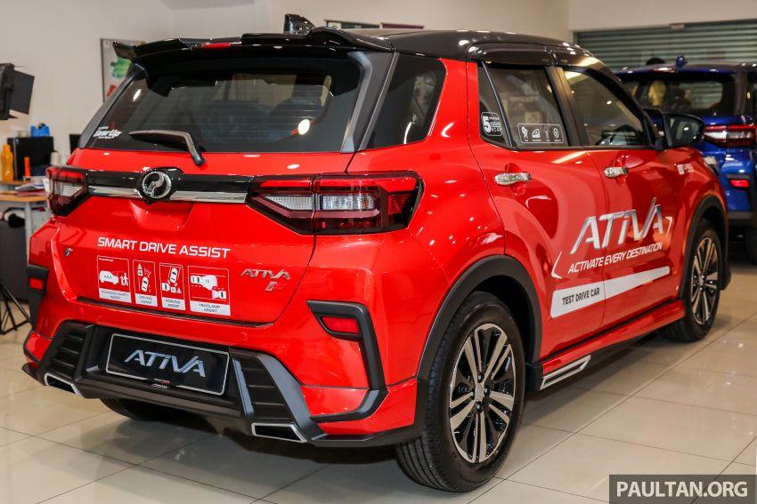 Perodua Ativa 2021 dilancarkan — varian X, H dan AV, 1.0L turbo dengan CVT, ASA 3.0, dari RM61k-RM72k Image #1257585