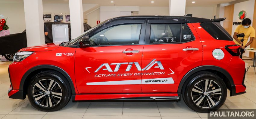 2021 Perodua Ativa SUV launched in Malaysia – X, H, AV specs; 1.0L Turbo CVT; from RM61,500 to RM72k Image #1257673