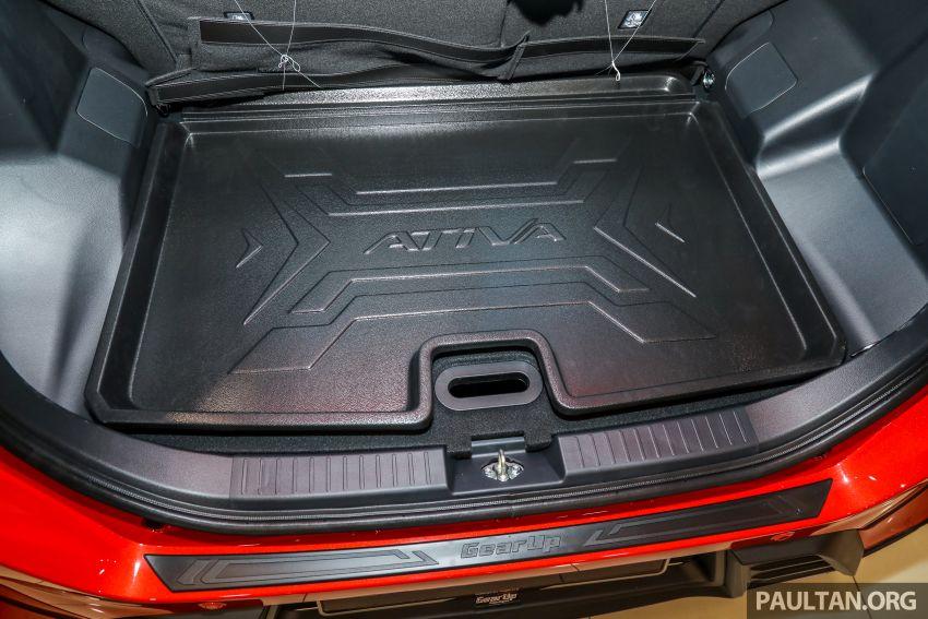 Perodua Ativa 2021 dilancarkan — varian X, H dan AV, 1.0L turbo dengan CVT, ASA 3.0, dari RM61k-RM72k Image #1257624