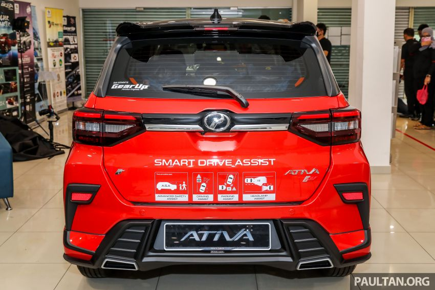 2021 Perodua Ativa SUV launched in Malaysia – X, H, AV specs; 1.0L Turbo CVT; from RM61,500 to RM72k Image #1257674
