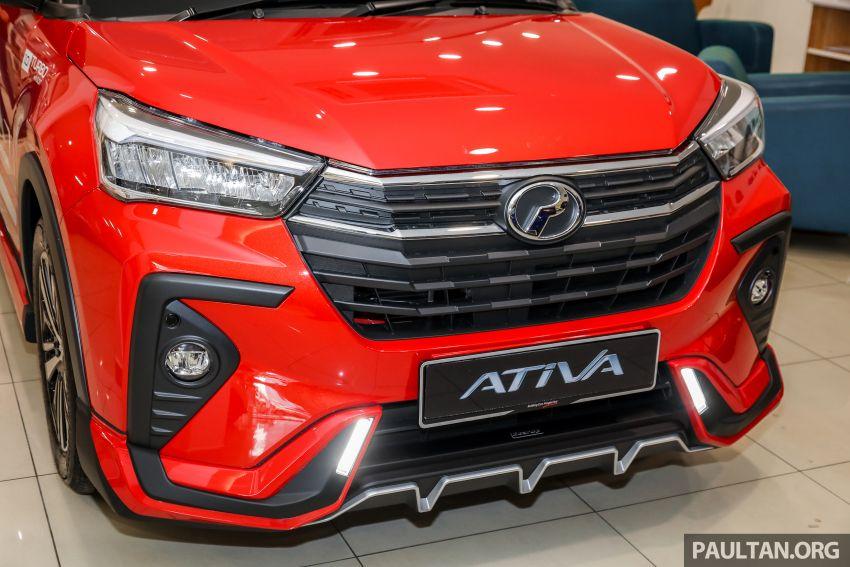 Perodua Ativa 2021 – pelbagai pilihan aksesori GearUp Image #1257397