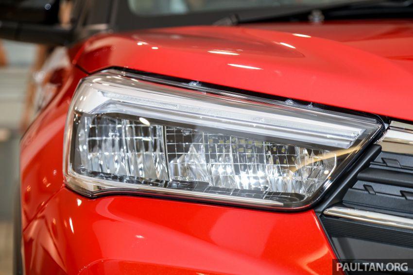 Perodua Ativa 2021 dilancarkan — varian X, H dan AV, 1.0L turbo dengan CVT, ASA 3.0, dari RM61k-RM72k Image #1257590