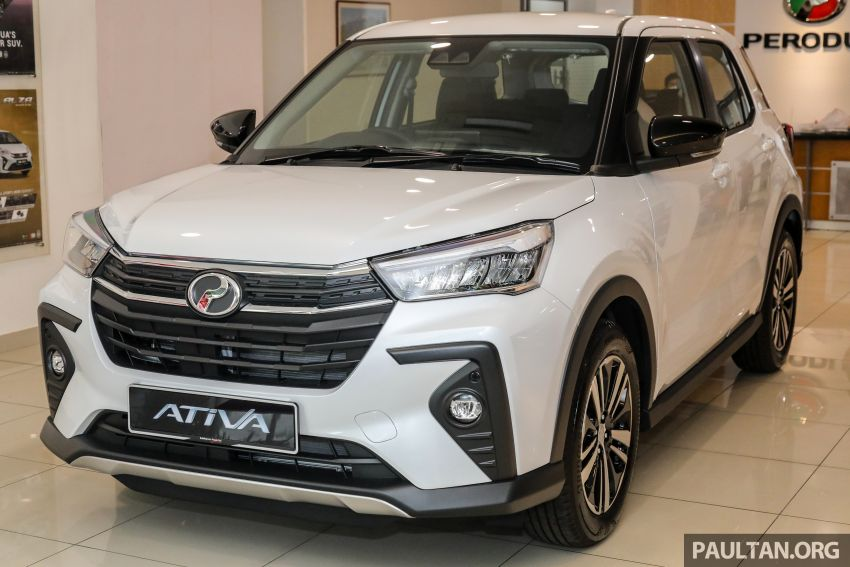 2021 Perodua Ativa SUV launched in Malaysia – X, H, AV specs; 1.0L Turbo CVT; from RM61,500 to RM72k Image #1257271